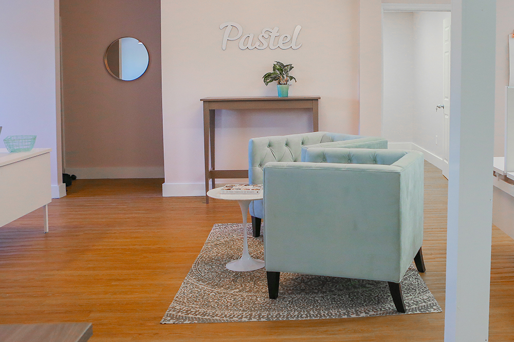 Pastel Event Rental Open Space